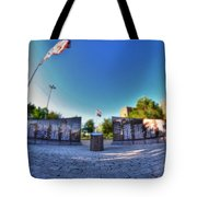 001 We Will Not Forget At The Erie Basin Marina Tote Bag