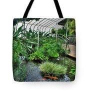 001 Within The Rain Forest Buffalo Botanical Gardens Series Tote Bag