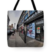 0010 Bottoms Up And The Chip Strip Tote Bag