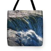 0010 Niagara Falls Winter Wonderland Series Tote Bag