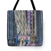 0010 Radio City Music Hall Tote Bag