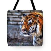 0010 Siberian Tiger Tote Bag