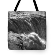 0010a Niagara Falls Winter Wonderland Series Tote Bag