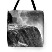 0011a Niagara Falls Winter Wonderland Series Tote Bag