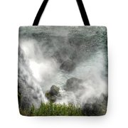 0012 Niagara Falls Misty Blue Series Tote Bag