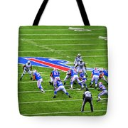 0013 Buffalo Bills Vs Jets 30dec12 Tote Bag