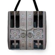 0013-door Tote Bag