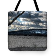 0013 Grand Island Bridge Series Tote Bag