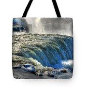 0013 Niagara Falls Winter Wonderland Series Tote Bag