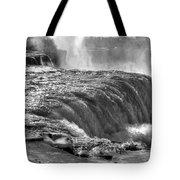 0013a Niagara Falls Winter Wonderland Series Tote Bag