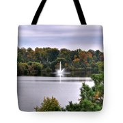 0015 Hoyt Lake Autumn 2013 Tote Bag