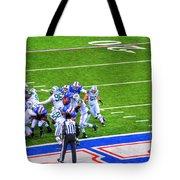0016  Buffalo Bills Vs Jets 30dec12 Tote Bag