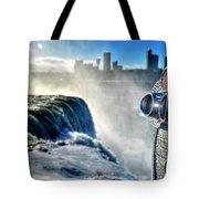 0016 Niagara Falls Winter Wonderland Series Tote Bag