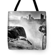 0016a Niagara Falls Winter Wonderland Series Tote Bag
