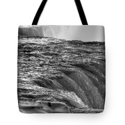 0017a Niagara Falls Winter Wonderland Series Tote Bag