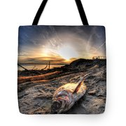 002 After The Ice Melts Erie Basin Marina Series Tote Bag