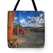 002 Building Buffalo Tote Bag