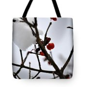002 Frozen Berries Tote Bag