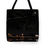 002 Japanese Garden Autumn Nights Tote Bag