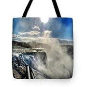 002 Niagara Falls Winter Wonderland Series Tote Bag