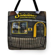 002 Sidelines Sports Bar And Grill Tote Bag