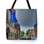 002 Towne Restaurant  Tote Bag