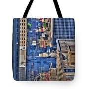 0022 Visual Highs Of The Queen City Tote Bag