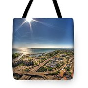 0023 Visual Highs Of The Queen City Tote Bag