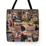 0023a Visual Highs Of The Queen City Tote Bag