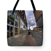 0024 The Edible Side Of The Chipp Stripp Tote Bag