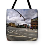 0027 Delaware And The Chipp Stripp  Tote Bag