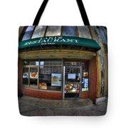 0027 Takis Restaurant  Tote Bag