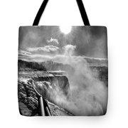 002a Niagara Falls Winter Wonderland Series Tote Bag