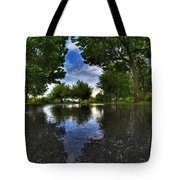 003 After The Rain At Hoyt Lake Tote Bag