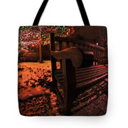 003 Christmas Light Show At Roswell Series Tote Bag