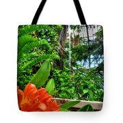 003 Falling Waters Buffalo Botanical Gardens Series Tote Bag