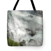 003 Niagara Falls Misty Blue Series Tote Bag