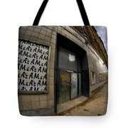 0034 Throwback Shopping Center Of Am And As Tote Bag