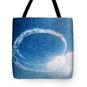 0036 - Air Show - Watercolor Tote Bag