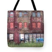 0037 Abandoned Warehouse Tote Bag