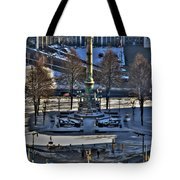 0037 Birdseye View Of Lafayette Square Tote Bag