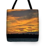 004 Awe In One Sunset Series At Erie Basin Marina Tote Bag