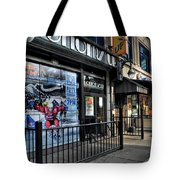 004 Bottoms Up And The Chip Strip Tote Bag