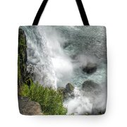 004 Niagara Falls Misty Blue Series Tote Bag