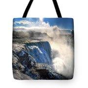 004 Niagara Falls Winter Wonderland Series Tote Bag