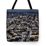 0042 After The Nov 2014 Storm Buffalo Ny Tote Bag