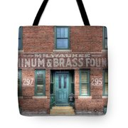 0044 Foundry Building Tote Bag