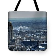 0045 After The Nov 2014 Storm Buffalo Ny Tote Bag