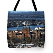 0048 After The Nov 2014 Storm Buffalo Ny Tote Bag