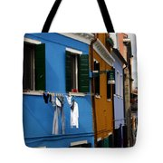 0049 Burano Colors 4 Tote Bag